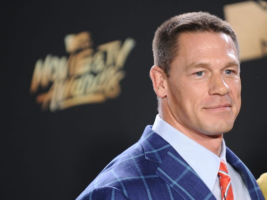 Pro wrestler and actor John Cena fell asleep during