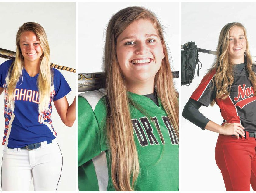 Cape Coral's Makenzie Buss, Fort Myers' Josey Mayer and North's Katelyn Kelly are softball players of the year finalists