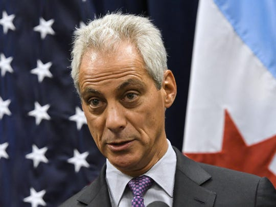 In this Jan. 15, 2017, file photo Chicago Mayor Rahm