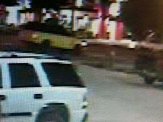 Metro police have located a yellow 2006 Range Rover