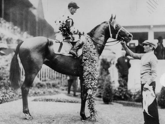 In 1930, Gallant Fox became the second Triple Crown winner.