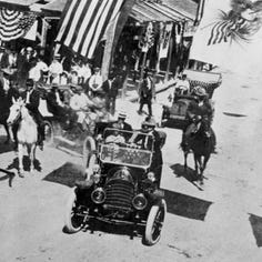 It was a hot day in October when Taft came to visit Corpus Christi