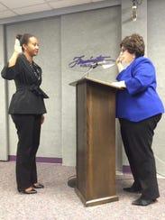 Farmington Board of Education's new trustee Terri Weems