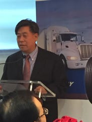 Ding Yuhua, chairman of Triangle Tire Co.
