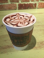 Hot cocoa at Green Planet Coffee Co.