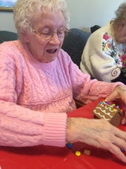 Residents at Ridgeview Gardens Assisted Living Center