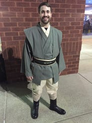 'Star Wars' fanatic Justin Gilreath dressed in his