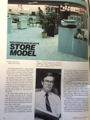 An 1984 article in a NOMDA Spokesman publication features
