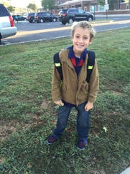 Christine Coppa's son Jack. You don't have to introduce