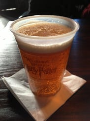 Butterbeer is the highlight of the Wizarding World