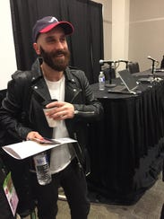 Sam Harris of X Ambassadors speaks at the South By