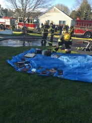 Vineland firefighters salvage a resident's personal