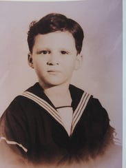 Peter Isaac Diamondstone as a young boy. He was born