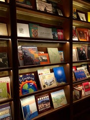 Hotel Emma's library features more than 3,700 books