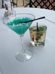 Try a Jack Frost or Mistletoe Mojito as part of our
