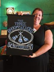 Sarah Lynch, owner of Baja Bean (The Three Broomsticks)