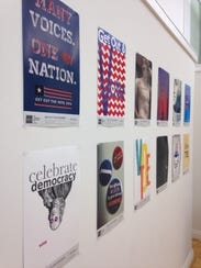 Get Out the Vote — an exhibit put on by design association