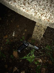A gun that was recovered by Waynesboro Police.