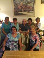 Jack Payton's family gathered to celebrate his 100th