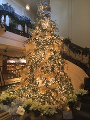 Thousands of lights adorn the largest tree at Kingwood