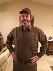 Citizen-Times reporter John Boyle rode along with UPS