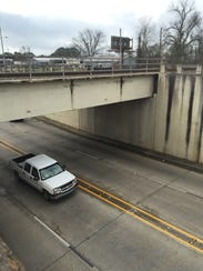 The University Avenue underpass would get a facelift