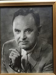 Norman Cox was the  founder and first president of