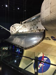 The space shuttle Atlantis was used by NASA from October
