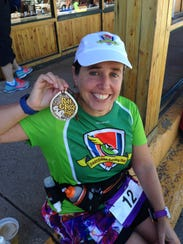 Holly Beck Aulen ran her first marathon in 2005 and