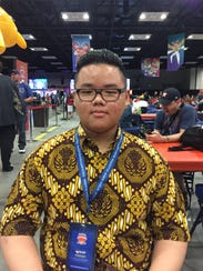 Auriel Abraham Karlan, from Indonesia, is in his first
