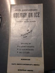 A 25th anniversary poster of Holiday on Ice from 1969,