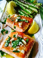Salmon is a good sources of Vitamin D.