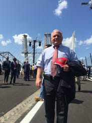 Haverstraw Supervisor Howard Phillips stands on the