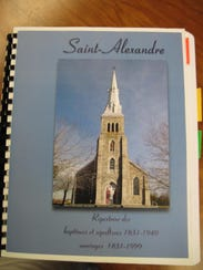 A book on St-Alexandre in Quebec helped Karl Lamson