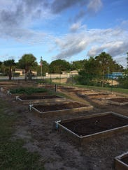There are still a few garden plots left to reserve,