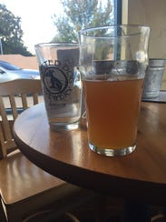 The IPA (English pint - $4.50; 12 ounces - $3.50) offered