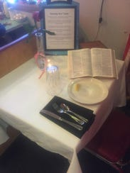 """A """"Missing Man Table"""" for """"those who just can't be"""