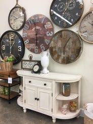 Ashley HomeStore clocks