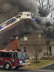 Afire gutted a home on Second Street Christmas Eve