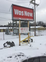 Was New is located at 11183 Broad St. SW in Pataskala.