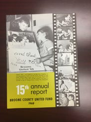 The fifteenth annual report for the Broom County United