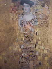 """Gustav Klimt painted """"Portrait of Adele Bloch-Bauer"""""""