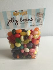 Divvies jelly beans are peanut, tree nut, dairy and