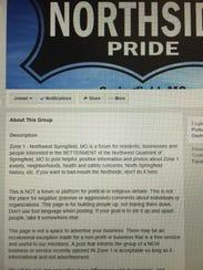 City Councilwoman Phyllis Ferguson moderates a Facebook