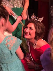 Ripon College students McCayla Thoe was crownded Miss