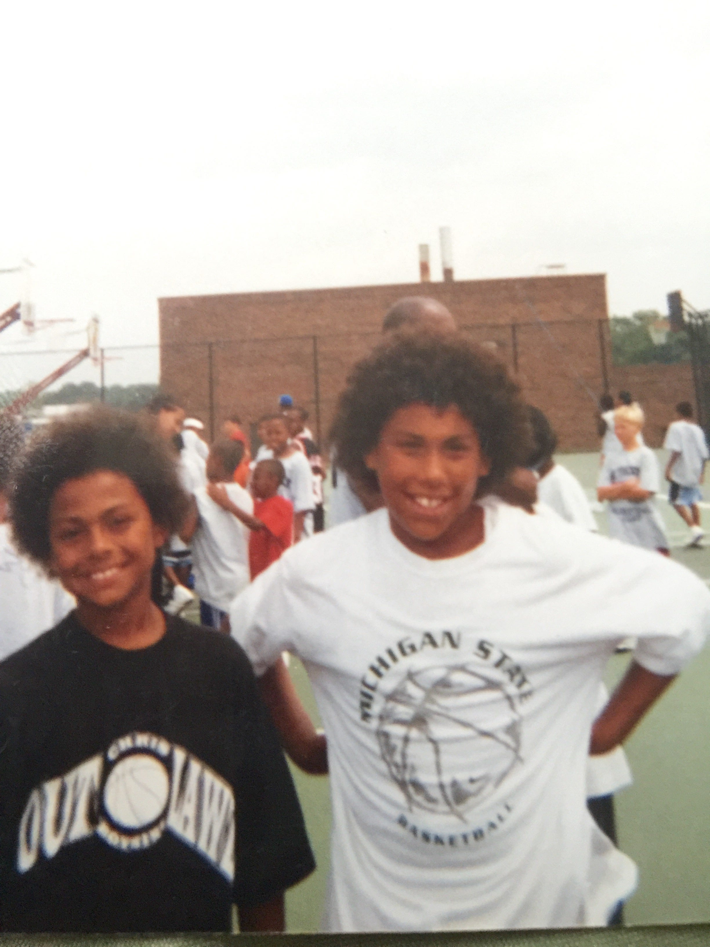 Photo Provided Sixth Graders Bryn Forbes, Left, And