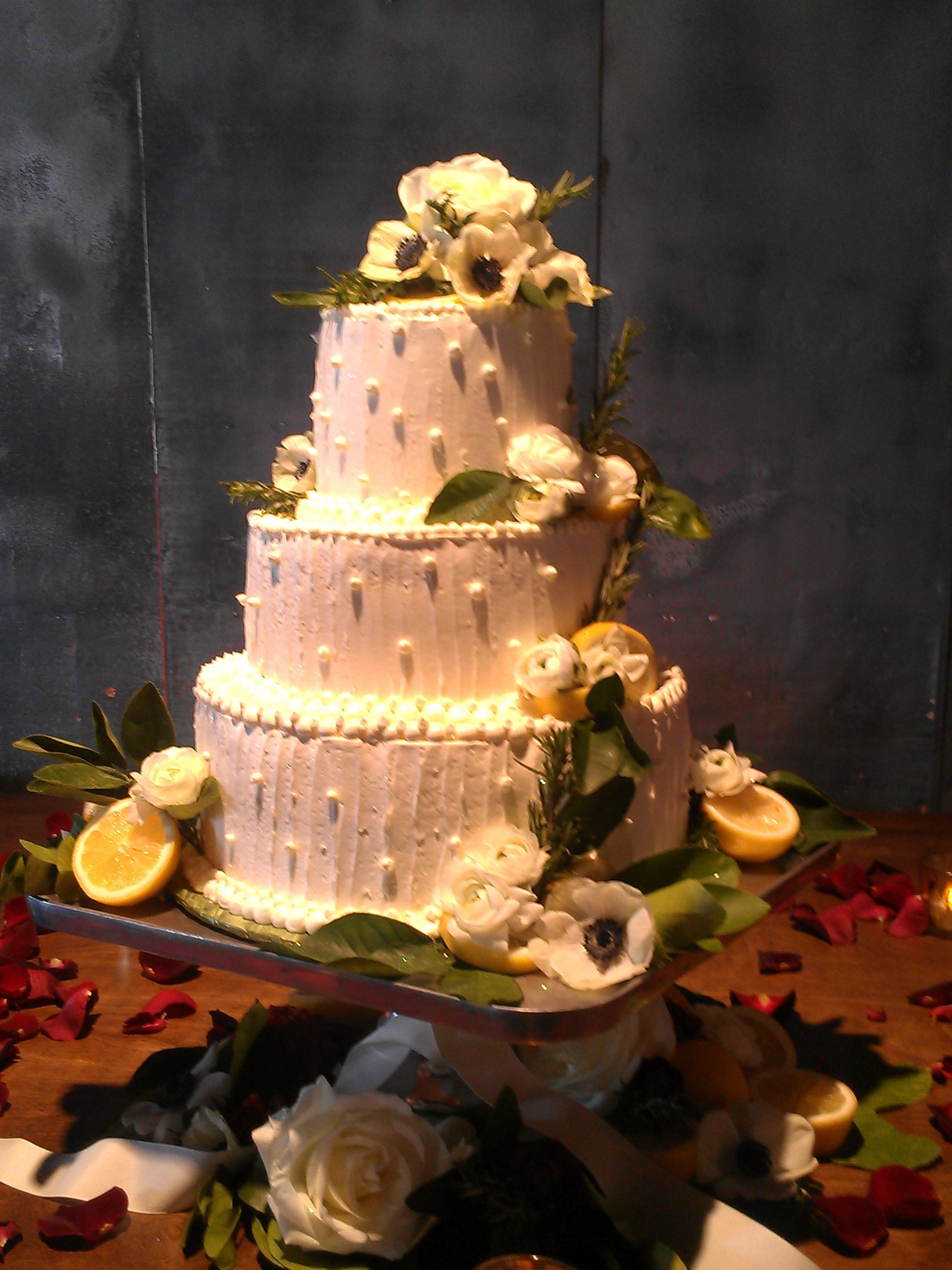 A Wedding Cake By Tracy Dempsey Originals.