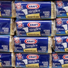 Packages of Kraft Singles are displayed in Chicago.