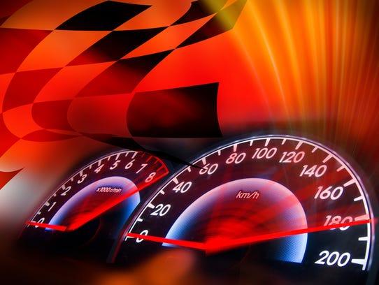 Auto Racing Illustration