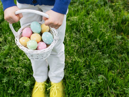 Buckeye's spring celebration includes Easter egg decorating, an egg hunt, Easter pictures, train rides, face painting and a petting zoo.